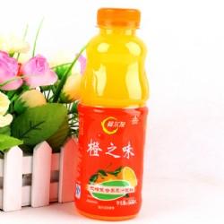 阿尔发橙之味无糖果蔬汁饮料500ml