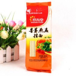 珍吾堂苦荞燕麦挂面粗条380g