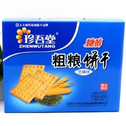 珍吾堂糖醇粗粮饼干芝麻味825g
