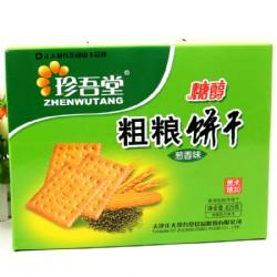 珍吾堂糖醇粗粮饼干葱香味825g