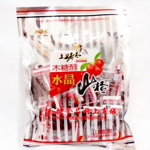 土姥太木糖醇水晶山楂之山楂派225g-杂糖类图片
