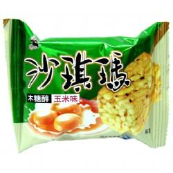 老布特木糖醇沙琪玛(玉米味)散装单个约25