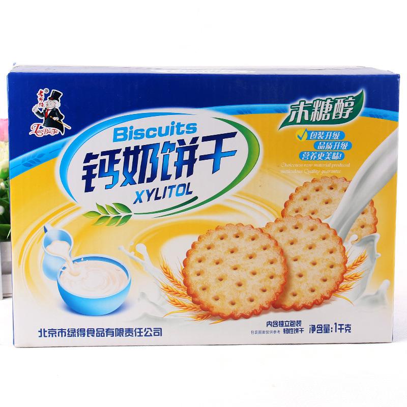 健丰老布特钙奶饼干1000克礼盒