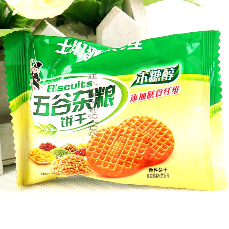 老布特木糖醇五谷杂粮饼干散装1kg