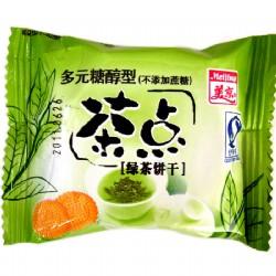 美京多元糖醇型茶点绿茶散装500g