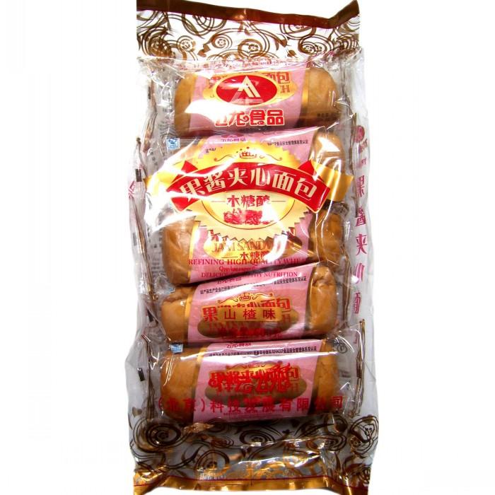 土老太木糖醇果酱夹心面包500g